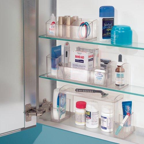 Interdesign Bathroom Tray Organizer Vanity Toothbrush