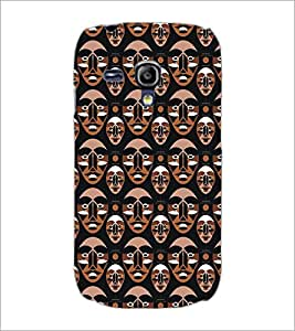 PrintDhaba Pattern D-5398 Back Case Cover for SAMSUNG GALAXY S3 MINI (Multi-Coloured)