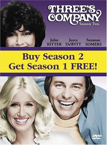 Three's Company: Seasons 1 and 2 by Starz / Anchor Bay (Threes Company Season Two compare prices)