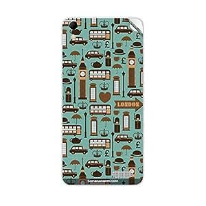Skin4Gadgets London Pattern Phone Skin STICKER for INTEX AQUA Q3