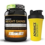 Advance Weight Gainer 1Kg (2.2LBS) Banana with free shaker