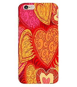 Fuson 3D Printed Pattern Designer Back Case Cover for Apple iPhone 6S Plus - D1086