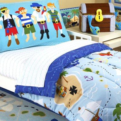 Olive Kids Pirates Toddler Comforter Bedding Set