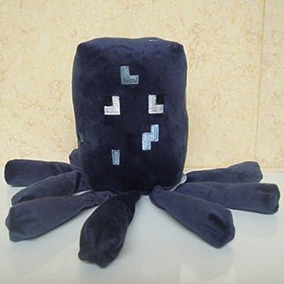 HABAER Minecraft Squid Plush Toys Dolls by HBEMY