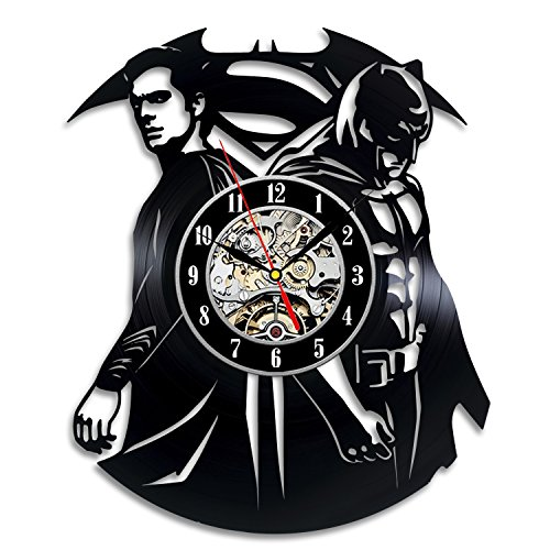 Batman v Superman Gift Wall Clock