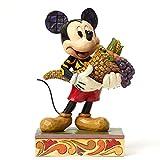Enesco Disney Tradition Autumn Mickey Mouse Figurine