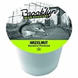Brooklyn Beans Hazelnut Coffee, Single-cup coffee for Keurig K-Cup Brewers, 40-count