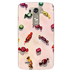 Jugaaduu Toffee Pattern Back Cover Case For Lg G3 D855