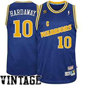 NBA adidas Tim Hardaway Golden State Warriors Soul Swingman Jersey - Navy Blue by adidas