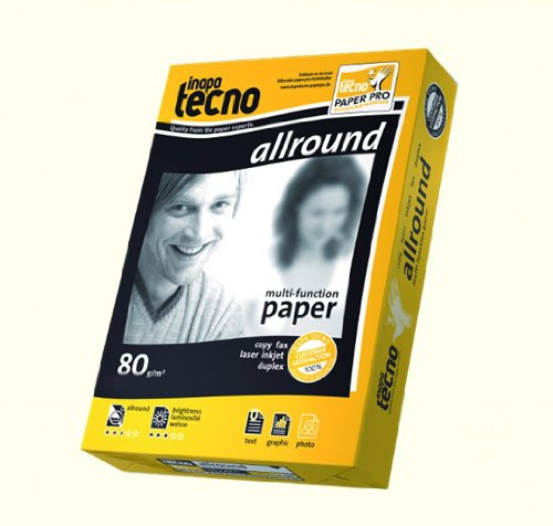 500 Blatt Inapa Tecno allround 80g/m² DIN-A3 Papier Druckerpapier