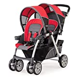517OolRj6bL. SL160  Chicco Cortina Together Double Stroller, Fuego