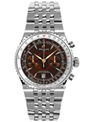Men's Navitimer Automatic Mechanical Chrono Bronze Dial Stainless Steel