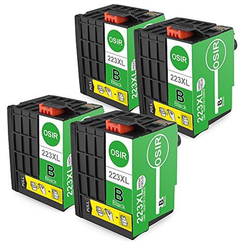 OSIR T223 Ink Cartridge For Epson WorkForce WF-M1030 WF-M1560 4 Black