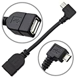Micro USB Host Mode On The Go OTG Cable for Nexus 7 / 10, Xoom, Galaxy S4 S2 S3, The HTC One, Toshiba TG01, Archos G9