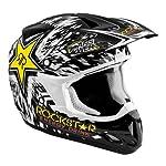 Answer Comet Rockstar Black Youth Helmet - Color : Black - Size : Medium