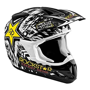 Answer Comet Rockstar Black Youth Helmet - Color : Black - Size : Small by Answer