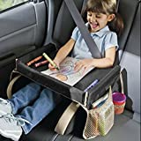 Kids Snack Play Travel Tray Car Drawing Board Table, Black
