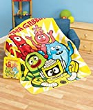 Yo Gabba Gabba Plush Throw with Matching Gift Bag (2 Piece Set)