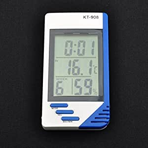 Neewer Digital Indoor Outdoor LCD Thermometer Hygrometer C / F Max Min