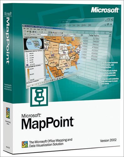 Microsoft MapPoint 2002 [OLD VERSION]
