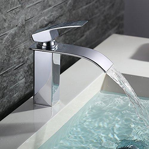 Homelody®verchromter Wasserhahn / Wasserfall Armatur