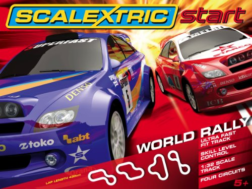 Scalextric C1249 Start - World Rally 1:32 Scale Race Set