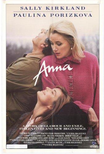 Anna Movie Poster (27 X 40 Inches - 69Cm X 102Cm) (1987) -(Sally Kirkland)(Paulina Porizkova)(Robert Fields)(Stefan Schnabel)(Larry Pine)(Ruth Maleczech) front-188819