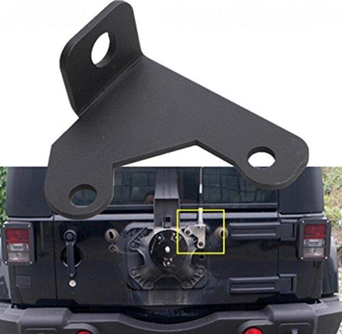Opar Steel CB Antenna Mount for 2007-2016 Jeep Wrangler Jk Unlimited Rubicon Liberty Sahara
