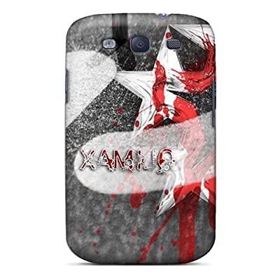 Fashion Protective Music Qlimax4 Case Cover For Galaxy S3