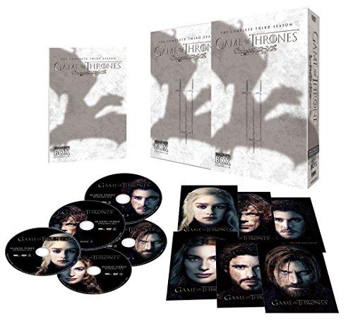 ゲーム・オブ・スローンズ 第三章:戦乱の嵐-前編- DVD コンプリート・ボックス (5枚組)