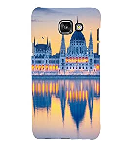 printtech Beautiful City Dome Building Back Case Cover for Samsung Galaxy A7 (2016)