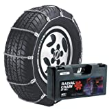 Security Chain Company SC1034 Radial Chain Cable Traction Tire Chain - Set of 2