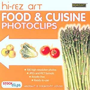 Hi rez art food cuisine photoclips software free for Art cuisine cookware reviews