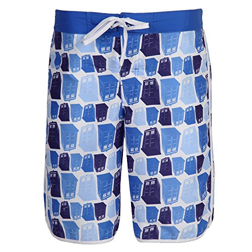 Doctor Who TARDIS Mens Board Shorts
