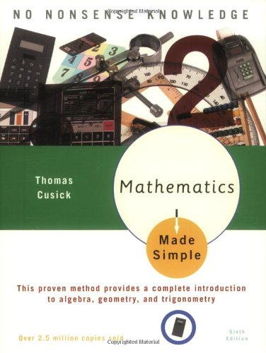 Mathematics Made Simple: Sixth Edition (Made Simple Books)