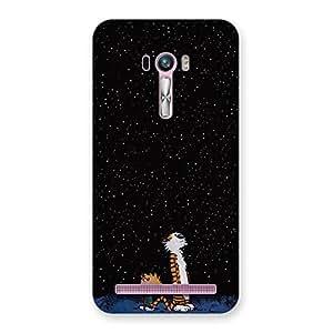 Impressive Counting Stars Multicolor Back Case Cover for Zenfone Selfie