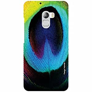 Design Worlds Lenovo K4 Note Back Cover - Feather Designer Case and Covers