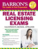 img - for Barron's Real Estate Licensing Exams: Salesperson, Broker, Appraiser book / textbook / text book