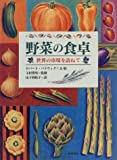 img - for Visiting the market in the world - table of vegetables (1995) ISBN: 4890138617 [Japanese Import] book / textbook / text book