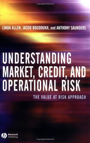 Linda Allen - Understanding Market, Credit, and Operational Risk: The Value at Risk Approach
