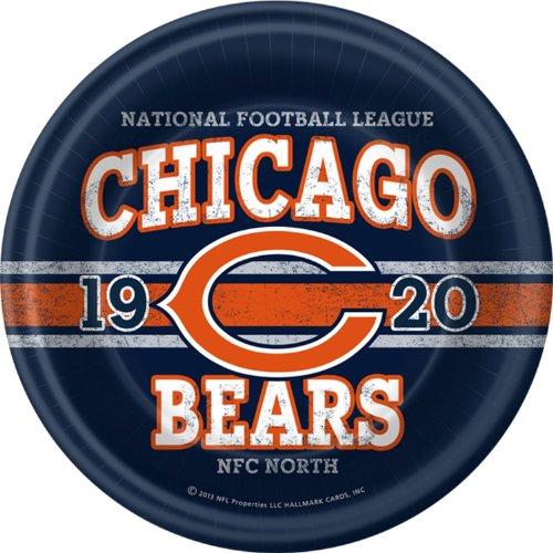 NFL Chicago Bears Dinner Plates (8) - 1
