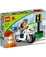 Lego Duplo - Legoville - 5679 - Jouet Premier Age - La Moto de Police
