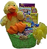 """Delight Expressions® """"Lucky Ducky"""" chocolate and Candy Easter Gift Basket - For Boys"""