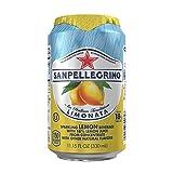 San Pellegrino Sparkling Fruit Beverages, Limonata/Lemon 11.15-ounce cans (Total of 24)