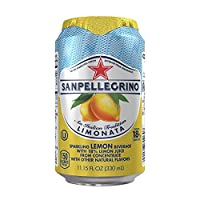 San Pellegrino Sparkling Fruit Beverages, Limonata/Lemon 11.15-ounce cans (Total of 24)