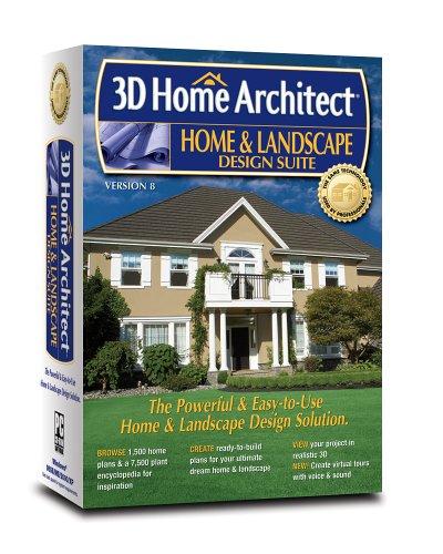 3D Home Architect Home and Landscape Design Suite Version 8