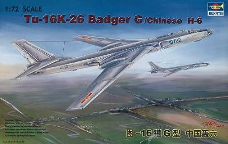 Trumpeter 1:72 - Tupolev Tu-16K-26 Badger G/chinese H-6