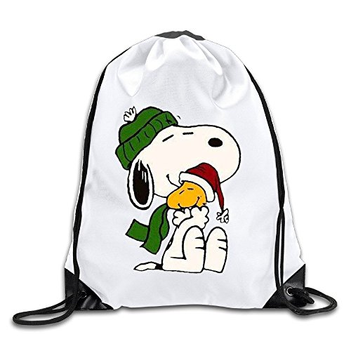 UNDERFASHION Snoopy & Charlie Brown Christmas Sackpack Team Training Gymsack