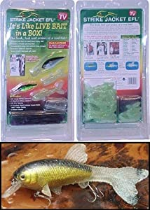 Strike jacket efl fishing lure kit as seen for Fishing lure as seen on tv
