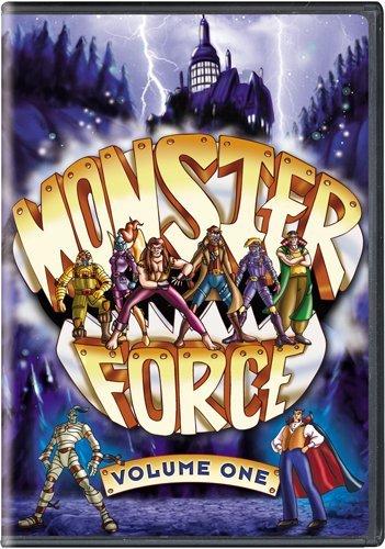 Чудовищная сила / Monster Force / 1-7 серия (Крис Шоутен / Chris Schouten) [1994 г., Мультсериал,фантастика, приключения,DVDRip]